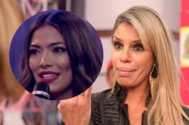 ¿Mamá de Alejandra Baigorria se corre de las cámaras al no tener argumentos para defender a su hija? - VIDEO