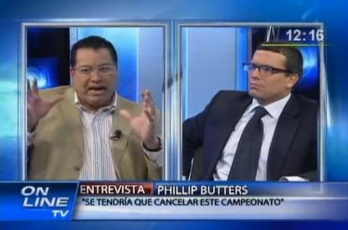 Phillip Butters: Burga es tan repudiado como Abimael y Artemio (Video)