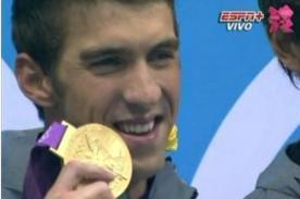 Michael Phelps consigue su medalla 22 en Londres 2012