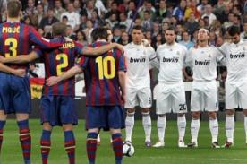Barcelona vs Real Madrid: Alineaciones confirmadas en ambos equipos