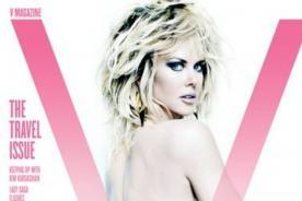 Nicole Kidman posó muy sexy para la cámara de Mario Testino