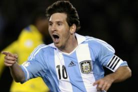 Lionel Messi arribó a su país para enfrentar a Paraguay y Perú