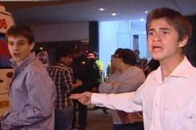 Video: Periodista es insultado y agredido por jóvenes en San Isidro