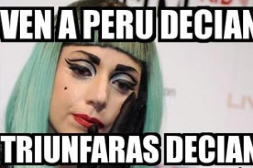 Lady Gaga en Lima: Memes surgieron por su poco concurrido concierto