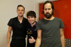 The Killers contó detalles de su concierto en Lima a Bruno Pinasco