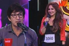 Yo Soy: Fernando Armas coquetea a participante en casting - Video