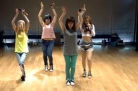 2NE1 nos enseña la coreografía de 'Falling In Love' - Video