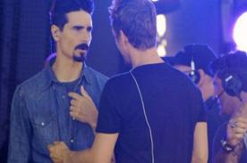 The Backstreet Boys: Nick y Kevin protagonizan pelea durante ensayo de show