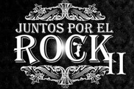 Juntos por el Rock II: Concierto será el 28 de setiembre