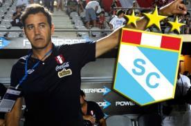 Sporting Cristal dejaría libre a Daniel Ahmed para dirigir a Perú