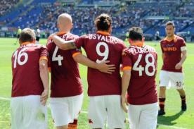 Fútbol italiano: La Roma cerca de batir récord en la Serie A