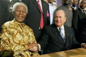Muerte de Nelson Mandela: Presidente de la FIFA deja mensaje de despedida