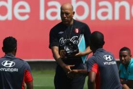 Roberto Mosquera y sus curiosas frases antes del País Vasco 6 - Perú 0