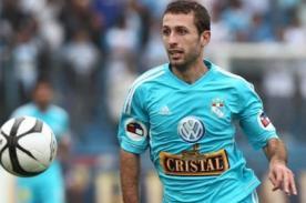 Calcaterra recibe críticas en Twitter tras partido de Cristal vs Paranaense