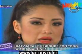 Video: Katy Jara llora de impotencia por declaraciones de Aída Martínez