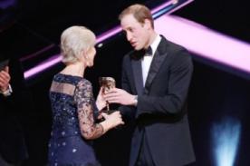 Príncipe William llamó 'abuela' a Helen Mirren