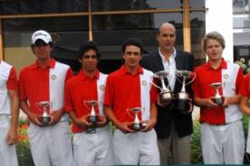 Perú se consagró tricampeón del Torneo Internacional de Golf de Menores