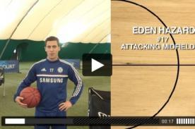 NBA: El reto de basket que realizaron los jugadores de Chelsea - VIDEO