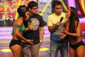 Combate: Karen Dejo enfureció con Diana Sánchez - Video