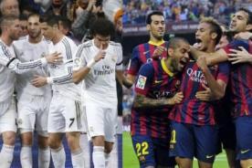 Barcelona vs. Real Madrid: Mira los partidos que jugaron en esta temporada - VIDEOS