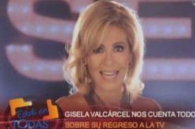 Gisela Valcárcel presenta adelanto de su nuevo programa (Video)