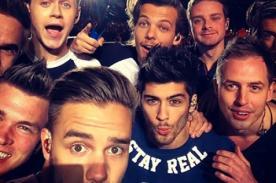 One Direction  y la selfie que inmortalizó el inicio del Where We Are Tour