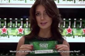 ¿Quieres ganarte una entrada para la final Champions League? Mira lo qué pasó en Chile [Video]