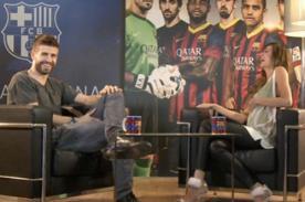 Gerard Piqué reveló detalles de su familia en programa estadounidense- Video