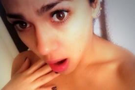 Vania Bludau remece Twitter con fotos hot saliendo de la ducha