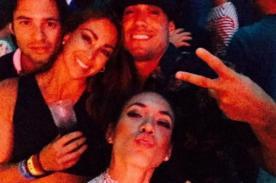 ¿Jazmín Pinedo y Gino Assereto fingieron ruptura? Ambos regresaron juntos y felices a Lima