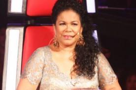 Eva Ayllón lamenta muerte de ex alumno de La Voz Perú