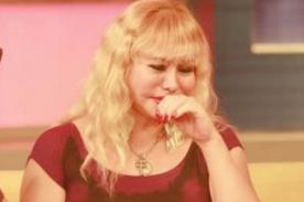 Susy Díaz revela entre lágrimas lo más triste que pasó en su vida