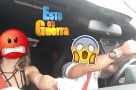 Esto Es Guerra: Mario Hart desata la furia en redes por conducir de forma irresponsable - VIDEO