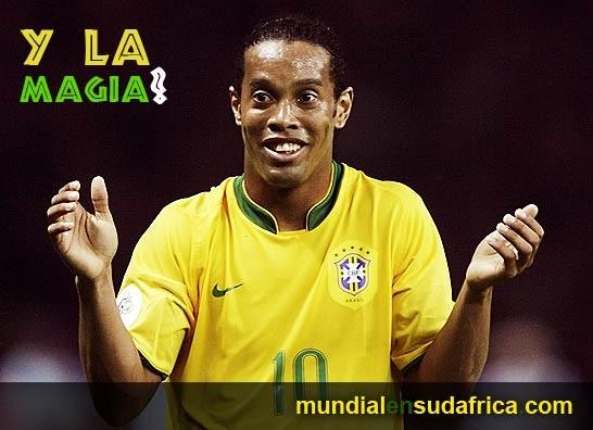 Mundial Sudáfrica 2010: Se confirma que Ronaldinho no jugará en la Copa del Mundo