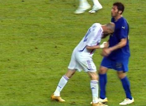 Materazzi a Zidane: Muchas gracias señor