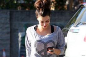 Kim Kardashian comenzó el día de San Valentín yendo al gimnasio
