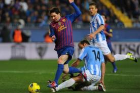 En vivo: Barcelona vs Málaga (4-1) - Minuto a Minuto - Liga Española