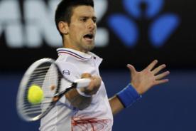 Novak Djokovic cortó sus raquetas tras perder el bronce en Londres 2012