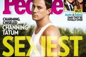 Channing Tatum es elegido como el hombre más sexy por la revista People