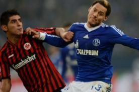 Bundesliga: Empate de peruanos en el Schalke vs Eintracht Frankfurt (1-1)