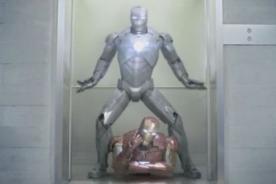 Iron Man se luce bailando el Gangnam Style - Video
