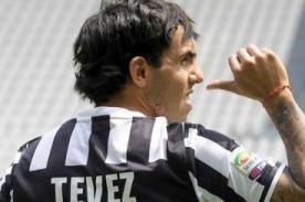 Juventus pide a Carlos Tévez bajar de peso