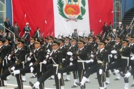 Fiestas Patrias: Parada Militar 2013 por Internet en vivo