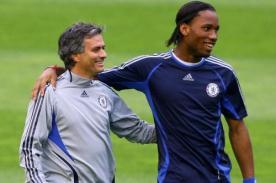 José Mourinho: Didier Drogba regresará algún día al Chelsea