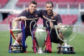 Josep Guardiola y Tito Vilanova arreglaron sus diferencias