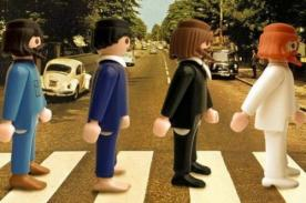 Playmobil: The Beatles, James Bond y la Última Cena representados con muñecos
