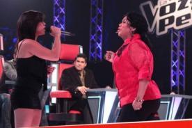 La Voz Perú: Jerry Rivera enloquece con presentación de Cinthia Young