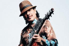 Carlos Santana rendirá homenaje a Miguel Bosé