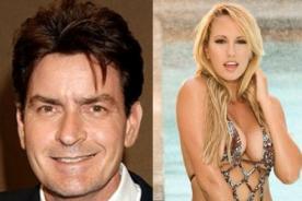 Charlie Sheen afirma que actriz porno es el amor de su vida