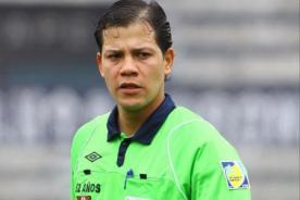 Play Off 2013: Conoce al árbitro que dirigirá en el Estadio Monumental